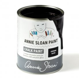 Athenian Black chalk paint burk