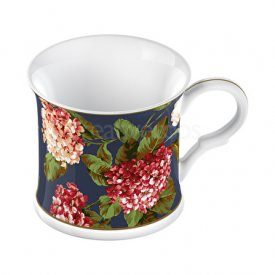 mugg i tunnt porslin-Royal Hydrangea Bone China
