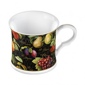 mugg i tunnt porslin-Summer Orchard Bone China