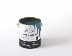 Aubusson Blue Wall paint-burk